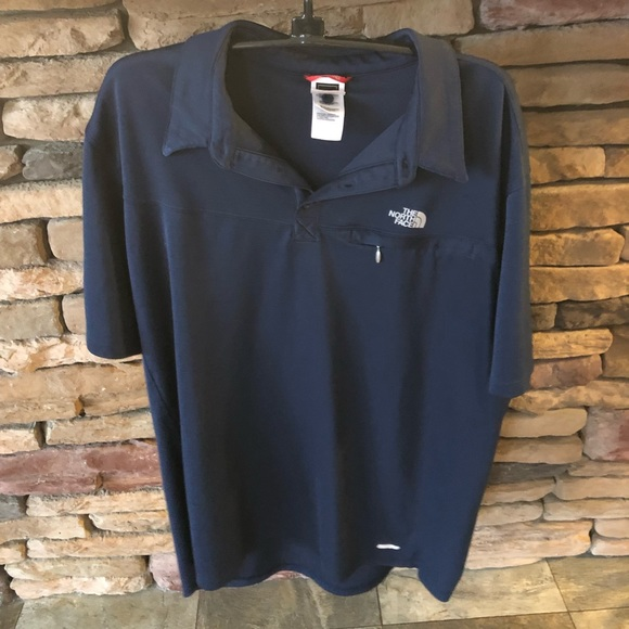 325ee5489 THE NORTH FACE Navy Polo Tee